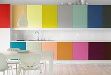 C O L O U R  /  C O L O R / Color inspiration in home decor and nature / by Jill Brandenburg