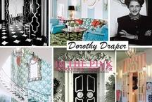 D O R O T H Y - D R A P E R / Dorothy draper interior design / by Jill Brandenburg