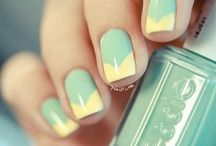 nails / whats with all these girls on pinterest that are so good at the their own nails? jeez. / by Cheyanne Massie