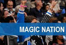 Magic Nation / Orlando Magic fans showing their team spirit!