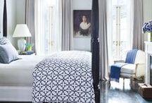 B E D R O O M S / Bedroom - Interior Design / by Jill Brandenburg