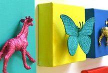 Décoration du mur fait main / DIY wall decoration / by ZODIO home