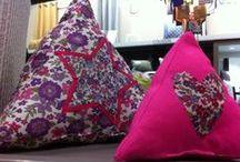 Décoration textile fait main / DIY textile / by ZODIO home