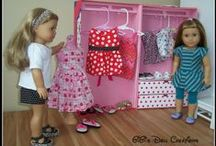 AG -18 inch doll house, furniture, decor / by Margaret Johnson/GiGi's Doll Creations