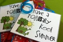 Class Room Ideas  / Class room gift and goody bags.Cheap but cute. Also for the teachers. / by Rosanna Cloward