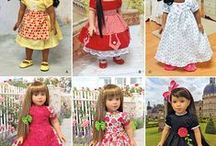 AG doll Patterns Simplicity and supplies  / Patterns and supply Items from Simplicity needed to purchase for making doll clothes and shoes. / by Margaret Johnson/GiGi's Doll Creations