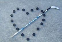 Sticks on the ice!  Hockey is life.  / Hockey / by Natasha Talavera