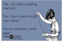 Sewing  / Practice makes perfect, or so they say / by Amy Aberg
