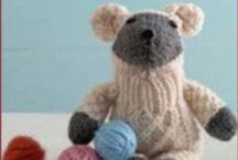 Knitted Toys / Surprise a little one with a handmade knitted toy; find dolls, teddy bears, and other toy patterns by scrolling through this board. / by Knitting Daily