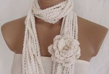 Scarfs / An accessory that can finish or tie in a outfit.  / by Rosanna Cloward