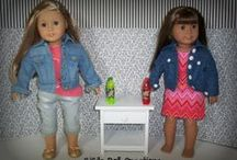 AG Doll Jackets and Coats / Jackets, coat, hoodies, and vest from various designers / by GiGi's Doll Creations