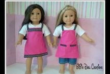 American Girl doll Aprons / by Margaret Johnson/GiGi's Doll Creations