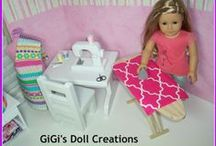 AG Doll Sewing toy accessories / by Margaret Johnson/GiGi's Doll Creations