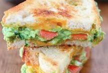 Sandwich Time! / Lunch and dinner made easy with bread and variety in the middle.  / by Rosanna Cloward