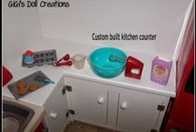 AG Doll Kitchen / by Margaret Johnson/GiGi's Doll Creations