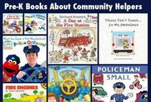 """""""Community Helpers"""" Learning Journey / by Becca Rose"""