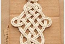 Crochet, knit, knot, weave