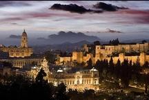 Málaga, my city. Spain, my country.