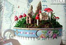 Tea & Fairy Gardens