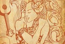 Hawaiian Paintings / Hawaii, that magical place, has always inspired artists like Wade Koniakowsky!