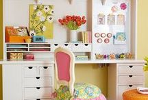 Creative Craft Rooms & Creative Ideas
