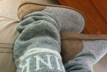 Socks/slipper socks / by Laurie Bosse
