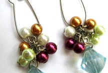 Earrings - beads