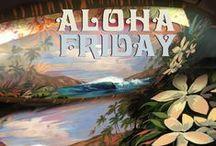Aloha Friday Artwork / Most every Friday I post Aloha Friday art to my Facebook Page, Ocean Art by Koniakowsky.