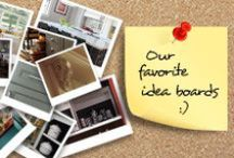 Idea Boards / These are our favorite idea boards that were created by other users right on our website. Create yours by visiting our site today http://plainfancycabinetry.com/idea-board