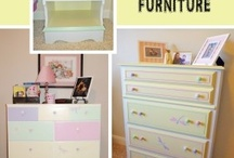 Kid's Bedroom Decorating and DIY / Bedroom inspiration for Kid's Rooms {Decorating and DIY Projects} / by Heidi Fowler {OneCreativeMommy.com}