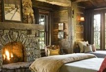 Rustic Cabin Looks We Love / Rustic cabins and interiors to die for! #cabinlife #homesteadingcabins #logcabinlooks