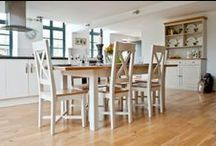 Dining and Living Room Furnishings / A selection of the Oak Furniture House Range