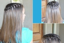Great Hair! / My own hair is thin and fine, but I love to try new looks on my girls!  Here's where I pin tips and ideas. / by Heidi Fowler {OneCreativeMommy.com}