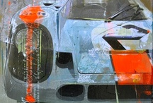 Ford GT 40 / A colection of picts of a mecanical muscle I love!