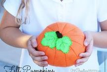 Fun Ideas for Fall & Thanksgiving {Crafts, DIY, Recipes and more} / Fall and Thanksgiving DIY, Crafts, and Food! / by Heidi Fowler {OneCreativeMommy.com}