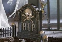 Spooktacular Decor by Country Door / Get your home ready for Halloween with scarily cute décor, including figurines, pumpkins, wall hangings and more.