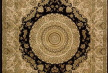 Persian Medallions / A common motif for Persian rugs, especially the larger ones, is a large central medallion. These designs are circular arrangement of motifs radiating out from the centre medallion suggesting the petals of a rose. This can be used in the borders however is mostly limited to the field and can be in either naturalistic or geometric form.