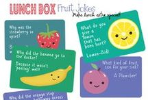 Lunch Box Love Notes Printables / Lunch Box Love Notes and Lunch Box Jokes are perfect for sending kids and spouses a little love from home each day! / by Heidi Fowler {OneCreativeMommy.com}