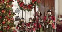 Traditional Holiday Decor by Country Door