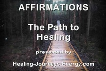 Affirmations / by Healing Journeys Energy .com