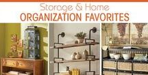 Project Organize by Country Door / There's nothing like a new year to get us motivated to make things neat and tidy. Just a few key pieces can make your organizational endeavors a breeze. Mired in clutter? We've got tips, tricks, articles and storage solutions for better home organization.