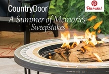 A Summer of Memories / Our customers had the chance to win our Sundance Ceramic Firetable and a $50 Country Door gift certificate.