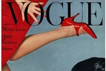 Vogue Covers ~ 1892-1950's / Vogue US – launched in 1892  //   Vogue US – launched in 1916  / by Donna Weisse
