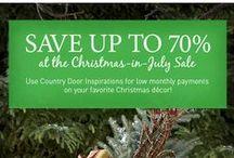 Country Door- Christmas in July Sale