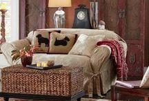 Cozin' up to indoor comfort by Country Door / Create a warm and welcoming space where your family will love to gather.