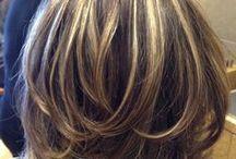 hair styles/ highlights