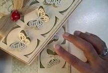Paper, scissors... / crafts with paper, cuttlebug, embossing, die cutting, inking