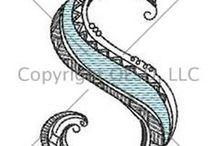 Zentangle / Zentangle strings, doodles