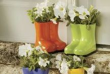 Splash On The Color by Country Door / Color-phobic? Conquer your fears by starting out with fun ideas like these.