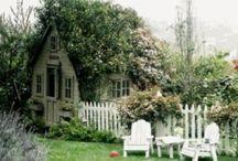 Back Garden Ideas / Ideas for trailer office, back garden decor, etc. / by My Last Bite